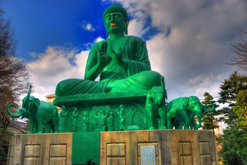 Green Buddha by EugeniusD80