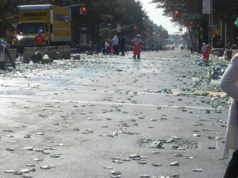 marathon cup mess