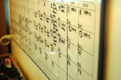 Chemo & Radiation Schedule