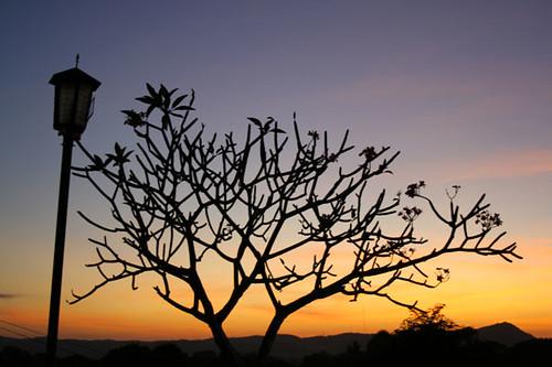 Sunset in Sta. Maria, Ilocos Sur
