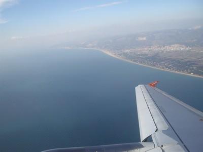 Foto desde el avión Barcelona-Ginebra