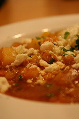 Hominy and Sweet Potato Soup
