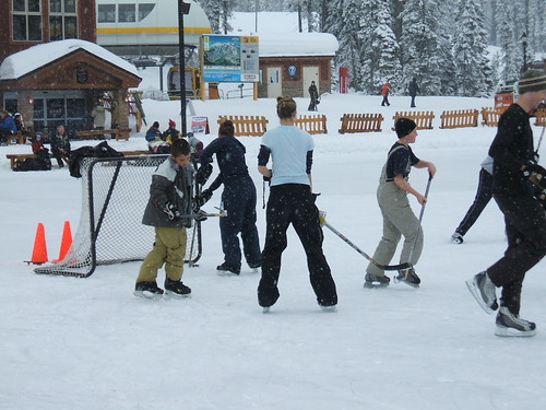 Ice Hockey @ Big White....
