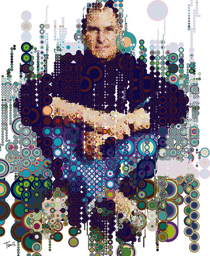 Steve on Circles I (raining colors) / Charis Tsevis