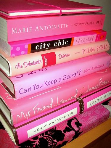 Pink books ^_^