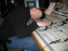Classic pose on the switcher
