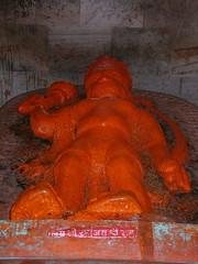 Hanuman idol, Ayodhya