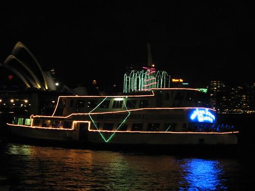 Sydney NYE Boat Parade