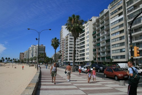 La Rambla in Montevideo