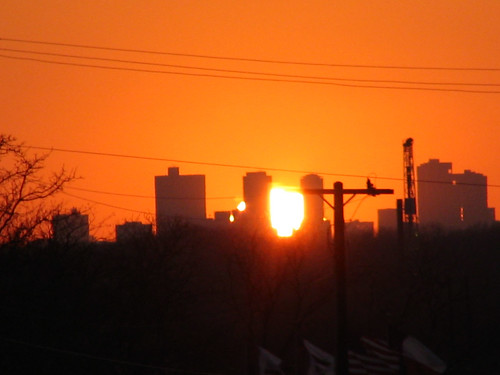 Sunset over Ft. Worth