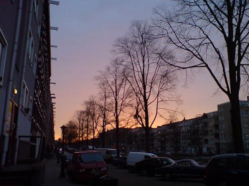 Sundown.