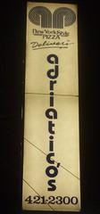 Adriaticos sign