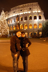 Honeymooners in Rome