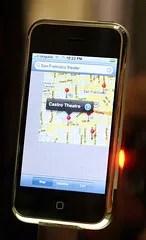 Google Maps on Apple iPhone