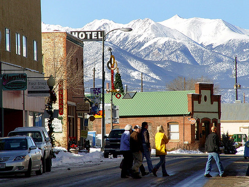 View of Salida by Flickr user teepoole
