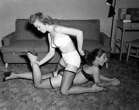 Mujeres con medias