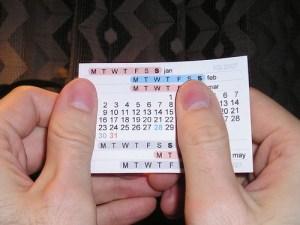 Thumb Calendar: April 2007