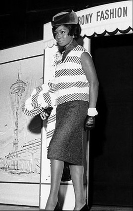 Judy Pace Modeling for Ebony Fashion Fair by The Cocoa Lounge.