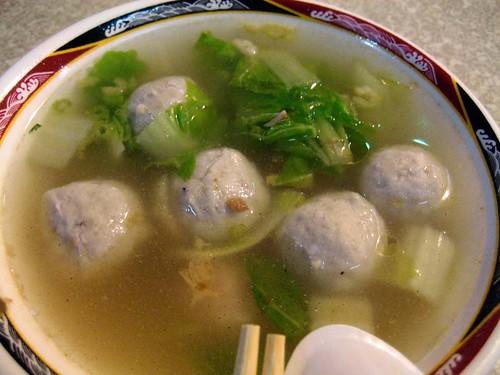 �丸湯/fish ball soup