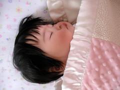 Asleep, phew!