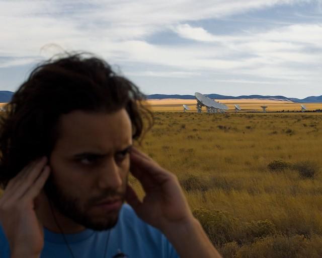 Cesar Makes Contact.