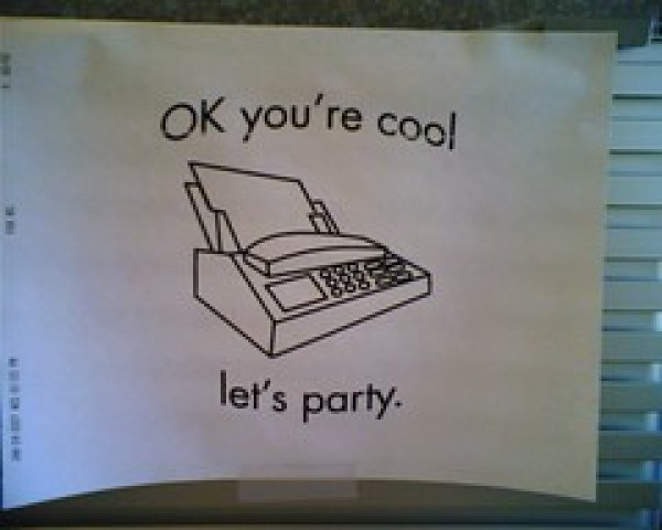 fax party