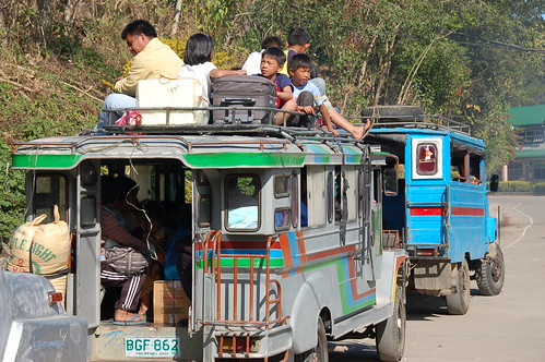 Jeepney Riders - Sagada, The Philippines by The Dilly Lama, on Flickr