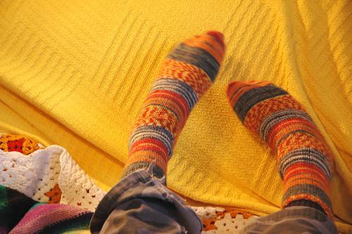 sam's feet