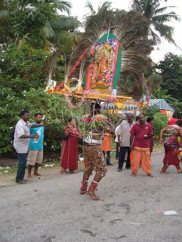 Kavadi Bearer Dancing