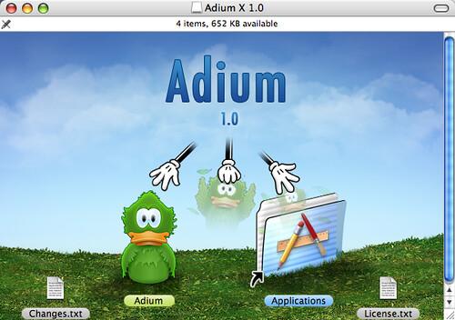 Adium 1.0 released