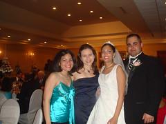 Anabelle, los novios y yo