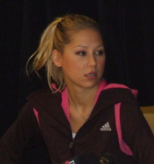 Anna Kournikova - from the Grand Haven Tribune