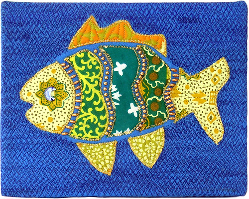 fiber fish by patti haskins