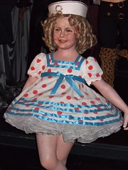 Shirley Temple at the Wax Museum at Fishermen'...