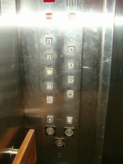 Elevators button