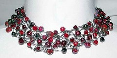 Industrial Blood Stone Choker