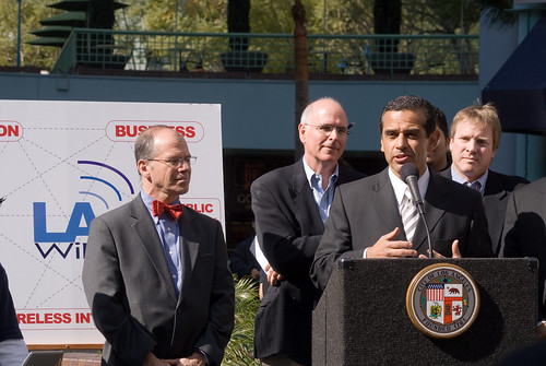 villaraigosa wireless municipal los angeles