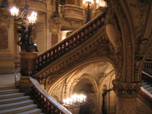 opera stairs