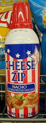 Patriotic Spray Cheese