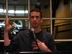 Dan Savage speaking at IWU