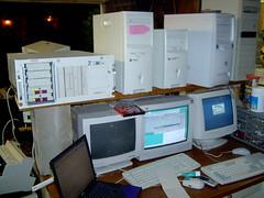 Computers and Servers repairing snapshot