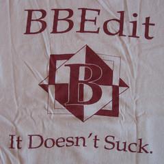 BBEdit It Doesn't Suck.