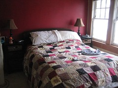 clean bed!