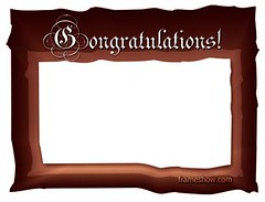"""Just to Say - Congratulations"" Phot..."