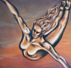 Freedom - 36 x 36 Oils on Canvas