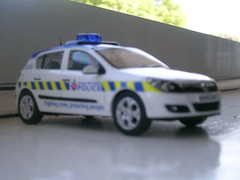 Greater Manchester Police Vauxhall Astra