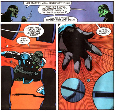 Alien Legion v2 #016 - Jugger and Dad