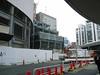 New buildings near Yuraku-cho station