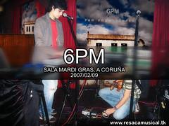 6PM Concert Coruña