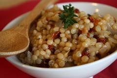 Herbed Israeli Couscous with Sundried Tomatoes 1